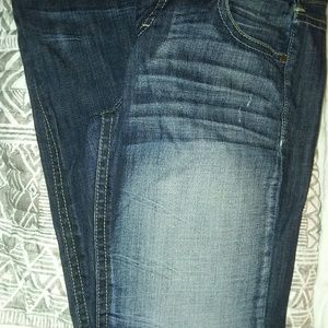 Maurice Dark Wash Jeans Size 9/10  Tall